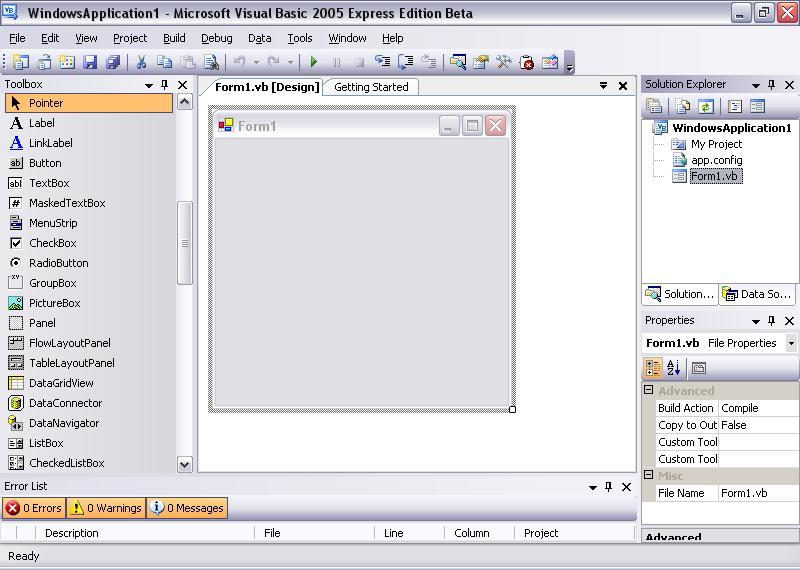 Visual basic 2005 скачать бесплатно